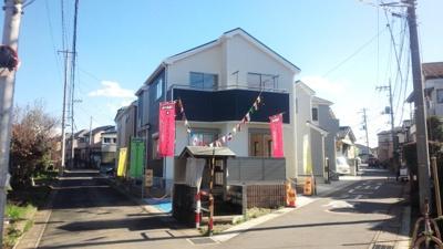 【外観】川口市安行原/新築分譲住宅全1棟