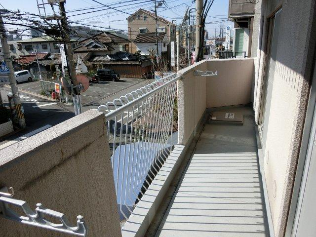有宏ハイツ(法善寺駅) バルコニー