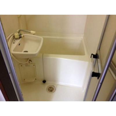 【浴室】セピア