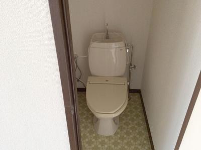 【トイレ】パレスリバーサイド