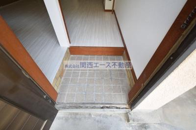 【玄関】第一瓢箪山ハイツ