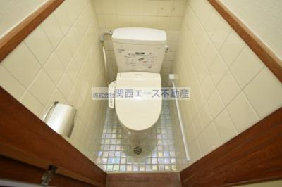 【トイレ】第一瓢箪山ハイツ