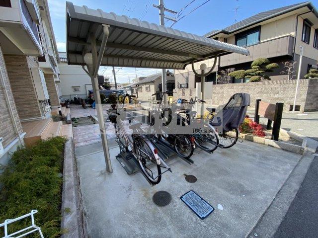 コモドレジデンシア2八尾南(八尾市太田8丁目)駐輪場