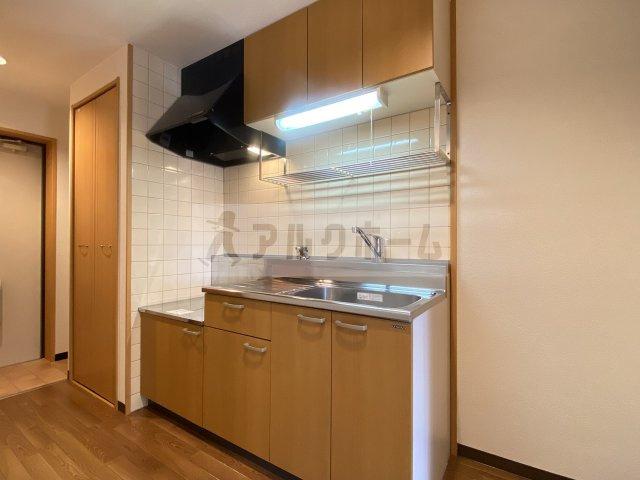 ラフィネ弓削 キッチンスペース