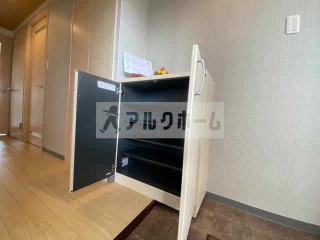 【玄関】第3コーポ平野