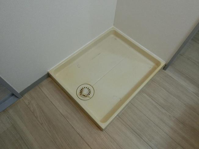 長井マンション 室内洗濯機置き場