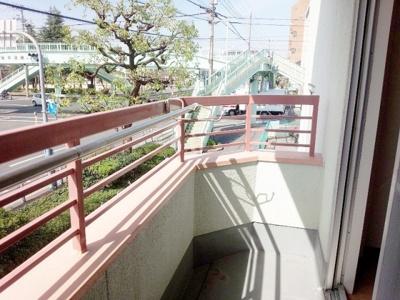 【バルコニー】フラット武庫川(鳴尾駅・武庫川女子大)