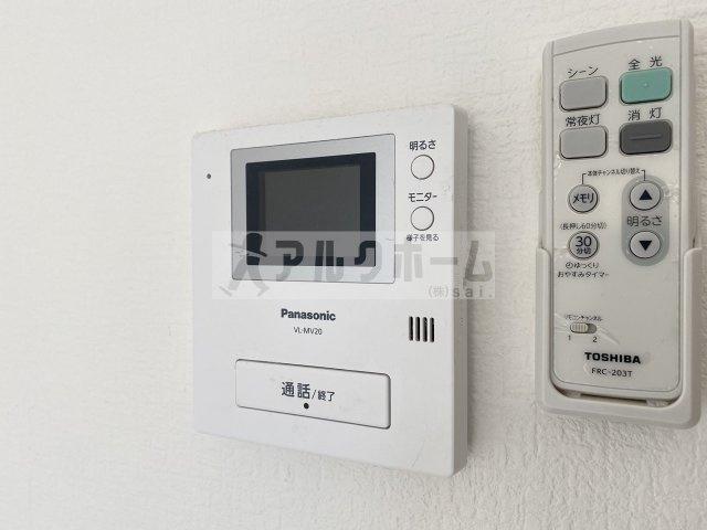 ハイツプレザント(河内国分駅) TVドアホン