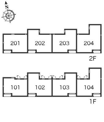 【区画図】ボヌールY
