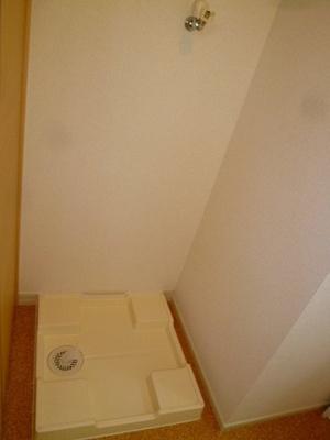 室内洗濯機置場(洗面所にございます)