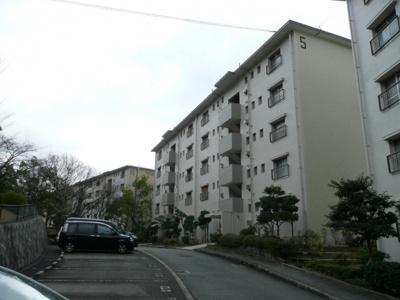 【外観】如意谷住宅5棟