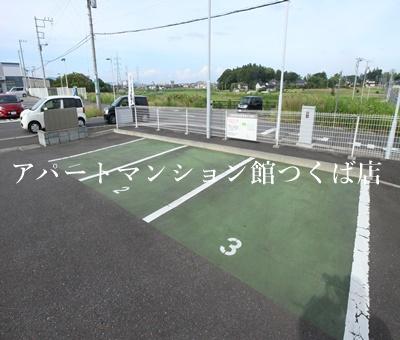 【駐車場】ツクバリゾートマンション エリフェスタ