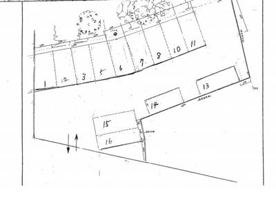 【区画図】西川島駐車場