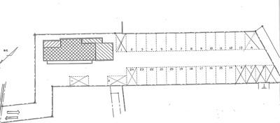 【区画図】細野第1駐車場