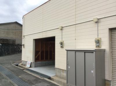 【外観】粟生間谷西倉庫