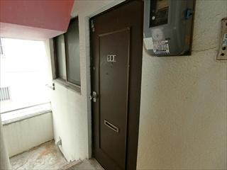 【玄関】久貝アパート