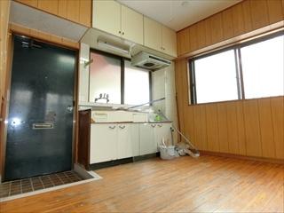 【キッチン】久貝アパート