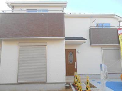 【外観】北本市西高尾/新築分譲住宅全2棟・残1棟