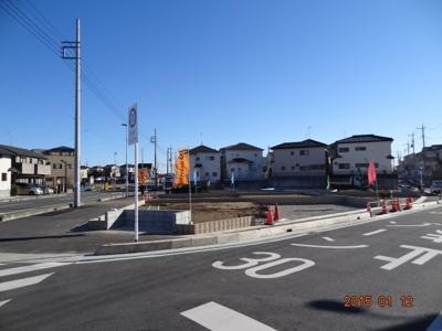 【外観】桶川市上日出谷/新築分譲住宅全8棟