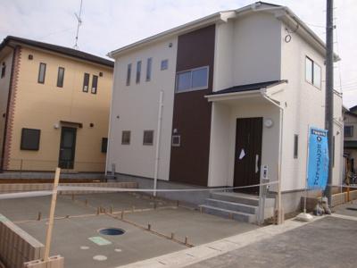 【外観】鴻巣市下忍/新築分譲住宅全5棟