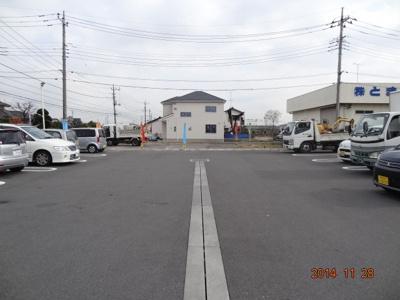 【前面道路含む現地写真】鴻巣市天神3丁目/新築分譲住宅全2棟