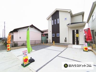 【外観】鴻巣市天神3丁目/新築分譲住宅全2棟