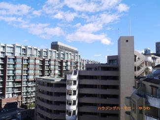 8階ですので、眺望も良好です。
