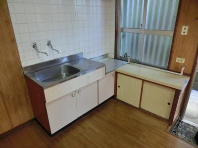 【キッチン】儀間アパートB棟