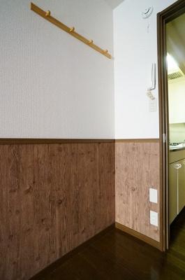 冷蔵庫置き場!ドア側まで47・横60!