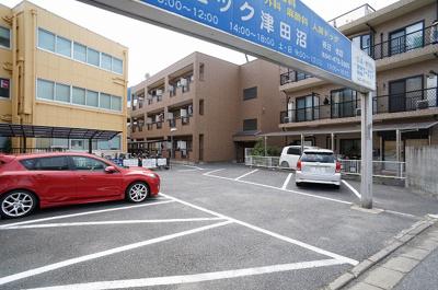 駐車場も完備!