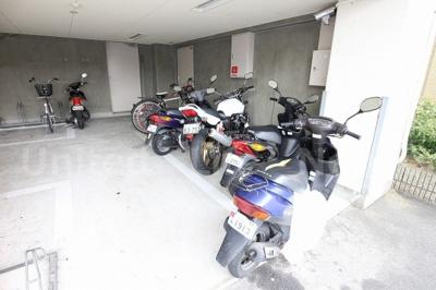 バイク置場あり