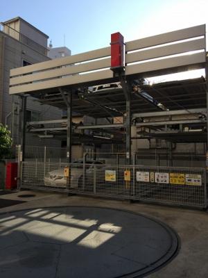 コートヒルズ広尾南の駐車場です。