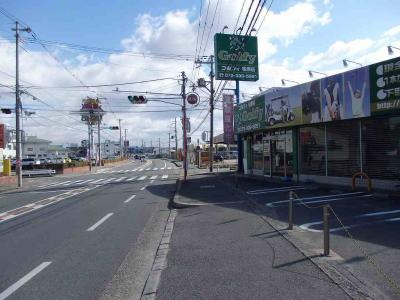 【外観】松川リース店舗