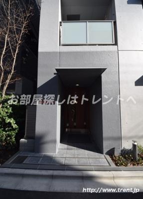 【エントランス】ソワール早稲田【Soirワセダ】