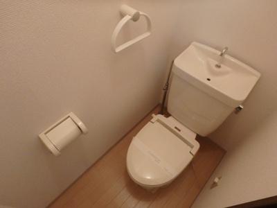 岡山市北区平野 ネクストⅢ 1K トイレ