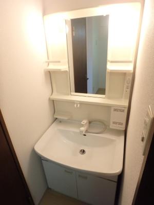 岡山市北区平野 ネクストⅢ 1K 外独立洗面台