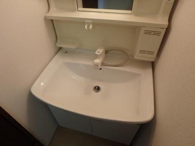 岡山市北区平野 ネクストⅢ 1K 独立洗面台