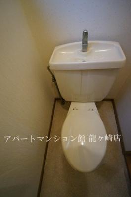 【トイレ】コーポタカネB