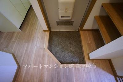 【玄関】コーポタカネB