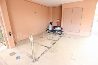 バイク置場も完備