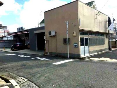 【外観】寺地町紙庄事務所付倉庫