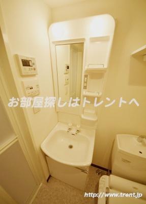 【洗面所】インベスト神楽坂