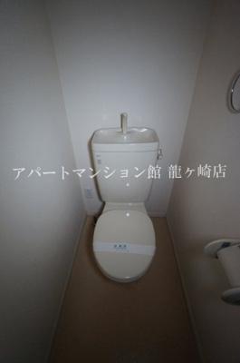 【トイレ】ラフィーネ佐貫中央A棟