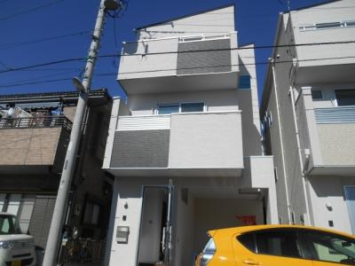 【外観】蕨市北町3丁目/南道路デザイン新築分譲住宅1号棟