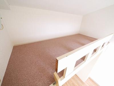 ロフト付きのお部屋です。