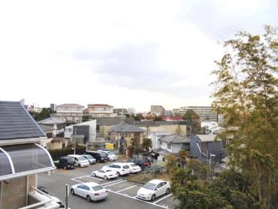 2Fバルコニーからの眺望★