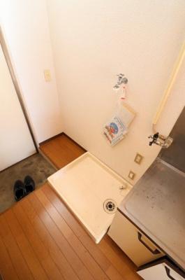洗濯機置場※写真は206号室参考