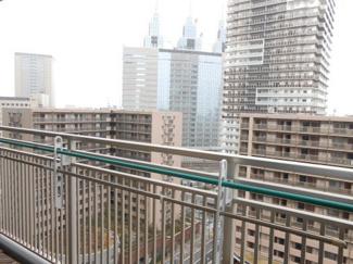 ヴィルクレール川崎タワー バルコニーからの眺望