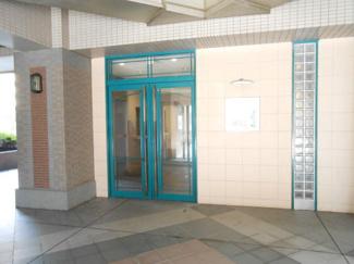 ヴィルクレール川崎タワー 入口のエントランス