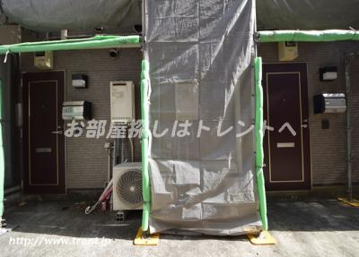 【エントランス】パルコート神楽坂